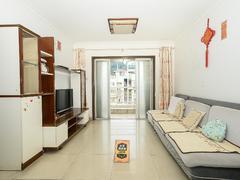 大世纪水山缘 全小区仅有的三个房间,客厅全朝南,满五红本无税二手房效果图