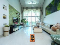中海怡翠山庄四期 5室2厅1厨1卫141.0m²普通装修二手房效果图