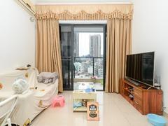 中南明珠香悦 2室1厅1厨1卫 56.15m² 整租出租房效果图