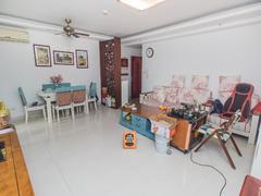 怡泰大厦 3室2厅1厨2卫99.65m²住家装修二手房效果图