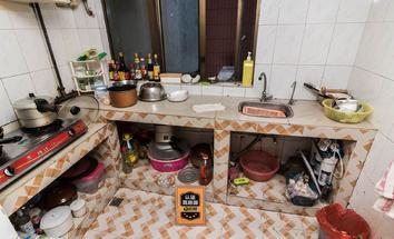 深圳天粹厨房照片_天粹 深中+翠北小学未用 两房做三房