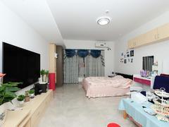 越秀可逸江畔 1室0厅1厨1卫 50.0m² 精致装修二手房效果图