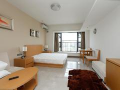 越秀可逸江畔 1室0厅1厨1卫 45.0m² 精致装修二手房效果图
