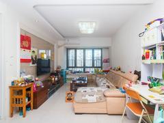 中海塞纳时光 大运新城精装3房房子保养好安静看花园二手房效果图