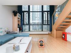 奥园峯荟 2室1厅1厨1卫 53.44m² 整租租房效果图