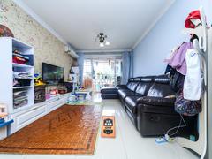 德福花园 朝东南花园式小区三居室,满五年红本在手,税费少自住