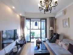 九龙仓繁华里 3室2厅0厨1卫 96.54m² 精致装修二手房效果图