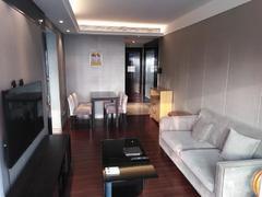 京基滨河时代广场 装修很好的两房,全齐的家私家电,楼下地铁站口租房效果图