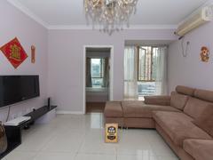 金色都汇 2室1厅1厨1卫 67.31m² 整租租房效果图