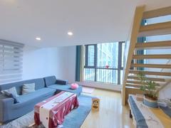 奥园峯荟 网红公寓复试两房 家私家电配齐,拎包入住租房效果图