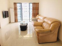 越秀星汇名庭(四期乐盈里) 2室2厅1厨1卫 90.0m² 整租租房效果图